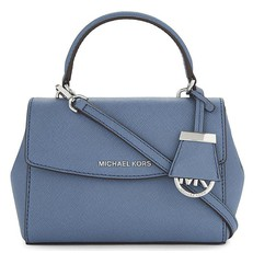 Kabelka Michael Kors Ava Extra-Small Saffiano Crossbody denim