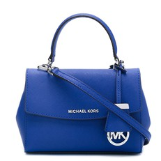 Kabelka Michael Kors Ava Extra-Small Saffiano Crossbody electric blue
