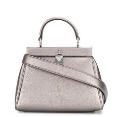 Kabelka Michael Kors Gramercy Small satchel stříbrná