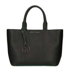 Kabelka Armani Jeans černá/zelená
