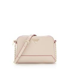 Kožená kabelka Guess Lady Luxe Crossbody