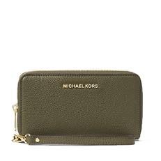 Peněženka Michael Kors Mercer Large Smartphone Wristlet olive