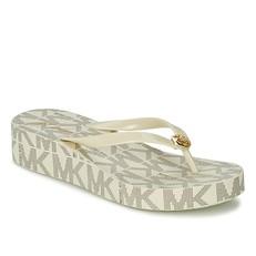 Obuv žabky Michael Kors Bedford Flip Flop vanilla