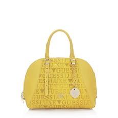 Kožená kabelka Guess Lady Luxe Satchel