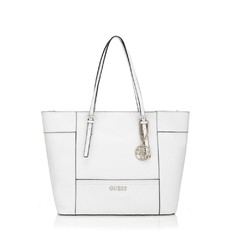 Kabelka Guess Delaney Medium Shopper Logo