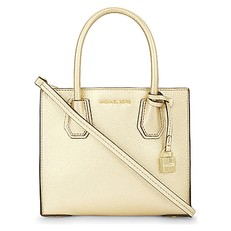 Kabelka Michael Kors Mercer Medium Bonded-Leather Crossbody