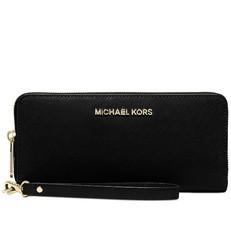 Peněženka Michael Kors Jet Set Travel Continental černá