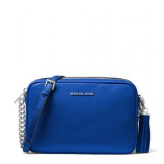 Kabelka Michael Kors Ginny Leather Crossbody electric blue