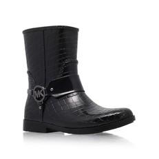 Obuv Michael Kors kotníkové holinky Croco Rain Boot
