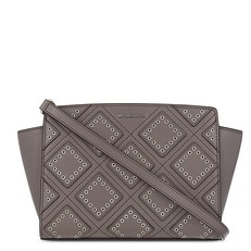 Kabelka Michael Kors Selma Medium Diamond Messenger cinder