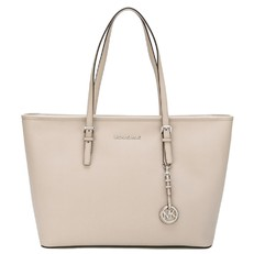 Kabelka Michael Kors Jet Set Travel Medium TZ Mult Funt Tote cement