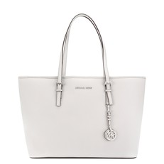 Kabelka Michael Kors Jet Set Travel Medium TZ Mult Funt Tote aluminum