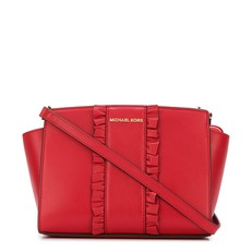 Kabelka Michael Kors Selma Medium Messenger bright red