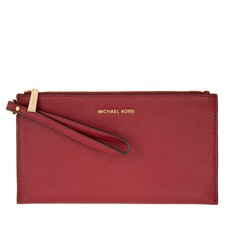 Kabelka Michael Kors Mercer Large Zip Clutch mulberry