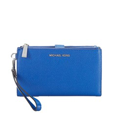 Kabelka Michael Kors Adele Leather Smartphone Wristlet electric blue