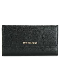 Peněženka Michael Kors Mercer Tri-Fold Leather Wallet černá