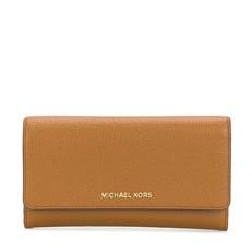 Peněženka Michael Kors Mercer Tri-Fold Leather Wallet acorn