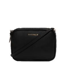 Kožená kabelka Coccinelle New Brick Leather Minibag