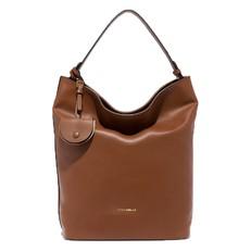 Kožená kabelka Coccinelle Jamila Leather Shoulder brule