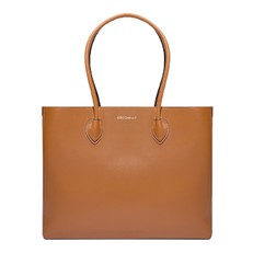 Kožená kabelka Coccinelle Farisa Leather Shopping Tote cuir