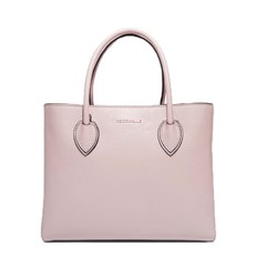 Kožená kabelka Coccinelle Farisa Leather Handbag pivonie