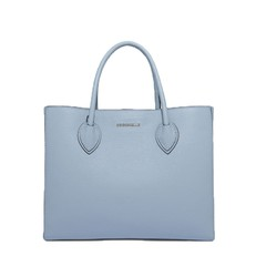 Kožená kabelka Coccinelle Farisa Leather Handbag iris