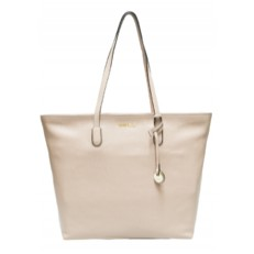 Kožená kabelka Coccinelle Clementine Soft Leather Shopping Tote seashell