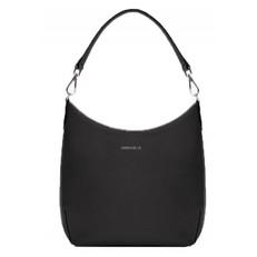Kožená kabelka Coccinelle Yamilet Saffiano Leather Shoulder černá