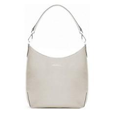 Kožená kabelka Coccinelle Yamilet Saffiano Leather Shoulder seashell
