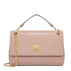Kožená kabelka Coccinelle Liya Leather With Single Shoulder Strap pivonie