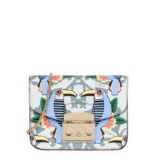 Kožená kabelka Furla Metropolis Mini Toni Cielo