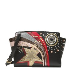 Kabelka Michael Kors Selma Medium Embellished Leather Messenger