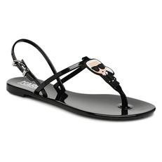 Sandálky Karl Lagerfeld Jelly Karl Ikonic Sling černé
