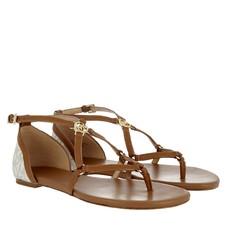 Kožené sandálky Michael Kors Terri Flat vanilla