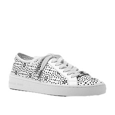 Obuv Michael Kors tenisky Keaton Perforated Leather Sneaker bílá