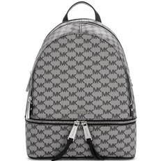 Kabelka Michael Kors Rhea Zip Logo Backpack černá