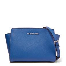 Kabelka Michael Kors Selma Medium Saffiano Messenger electric blue
