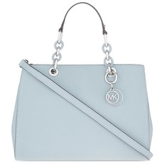 Kabelka Michael Kors Cynthia Medium Satchel dusty blue