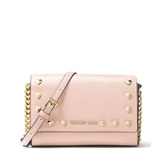 Kabelka Michael Kors Ginny Heart Clutch soft pink