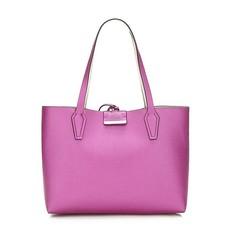 Kabelka Guess Bobbi Reversible Shopper růžová/kremova