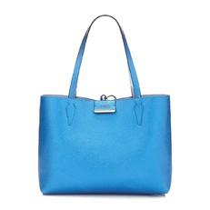 Kabelka Guess Bobbi Reversible Shopper modrá/světle modrá
