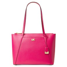 Kabelka Michael Kors Maddie Medium Leather Tote ultra pink