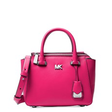 Kabelka Michael Kors Nolita Mini Leather Satchel ultra pink