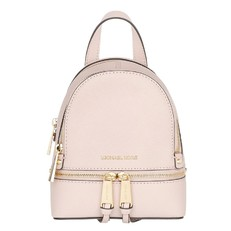 Kabelka Michael Kors Rhea Extra-Small Saffiano Backpack soft pink