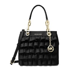 Kabelka Michael Kors Cynthia Small Ruffled Leather Satchel