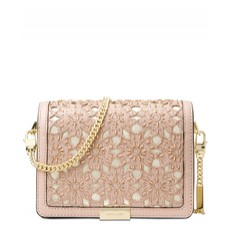 Kabelka Michael Kors Jade Medium Gusset Clutch soft pink