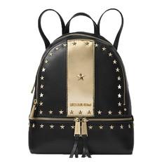 Kabelka Michael Kors Rhea Star Studded Backpack černá/zlatá