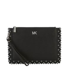 Kabelka Michael Kors Medium Scalloped Pebbled Leather Pouch černá