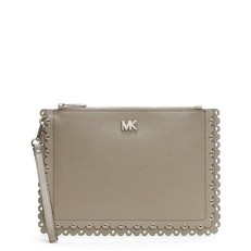 Kabelka Michael Kors Medium Scalloped Pebbled Leather Pouch truffle
