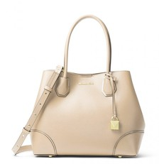 Kabelka Michael Kors Mercer Gallery Medium Leather Tote oat